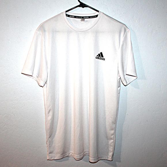 528fd39b adidas Shirts | Climalite White Drifit Tshirt | Poshmark